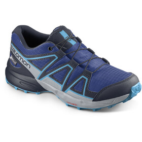 Salomon Speedcross CSWP Zapatillas Niños, surf the web/navy blazer/ethereal blue